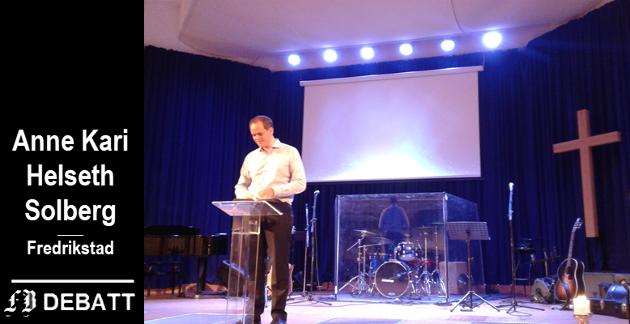 Innsendt bilde fra møte i Zoé-kirken. Helseth Solberg anbefaler i innlegget Gøran Karlsen å besøke menigheten, og finne ut om hans karakteristikk av forsamlingen stemmer.