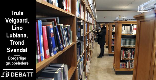 «Bruk er beste vern»: – Biblioteket er en av de få fredede bygningene i Fredrikstad. Det beste vernet er å fortsette virksomheten der, heter der i innlegget.