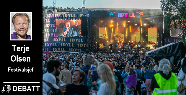 Smekkfullt og topp stemning under Idyllfestivalen på Isegran i fjor. Samtidig forteller festivalsjef Terje Olsen at Isegran byr på en rekke utfordringer for arrangøren.