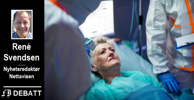 – Mens dødeligheten blant koronasmittede som er under 70 år og uten kroniske sykdommer er på cirka en prosent, er den minst ti ganger høyere for de som er eldre og/eller lider av diabetes, hjerte- eller lungesykdom.