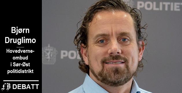 Bjørn Druglimo, hovedverneombud Sør-Øst politidistrikt