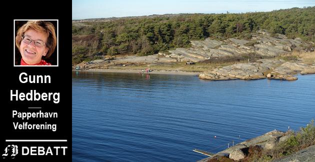 Guttormsvauen på Vesterøy, idyllisk og velbrukt som utfartsområde.