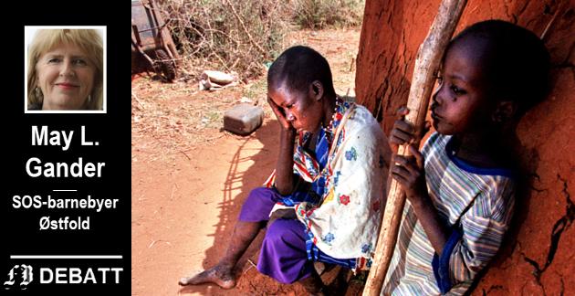 – Det er store fare for at pandemien i Afrika vil etterlate seg  et stor antall barn uten omsorg, opplyser Gander.