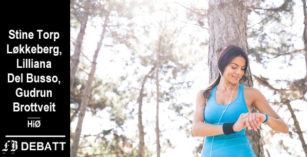 – Etter vårt syn er det viktig at vi fortsetter å lytte til det vi sanser, opplever og føler i egen kropp, og kun betrakter de digitale enhetene som viktige supplementer til å spore helse og aktivitetsnivå, skriver HiØ-forskerne om bruken av de populære smartklokkene.