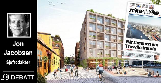 Fredrikstad kommune kaster seg nå selv inn i byutviklingskampen gjennom selskapet Isegran Eiendom. Det ligger fortjeneste med mange nuller bak i potten.
