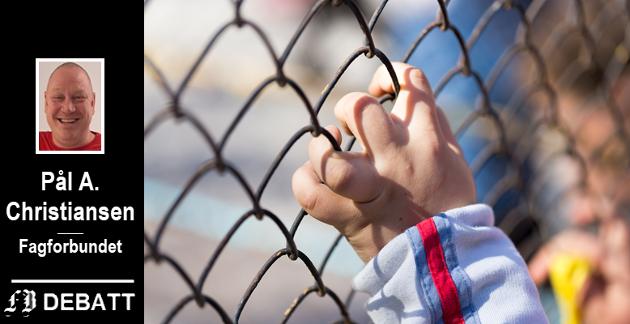 – Vi trenger tydelige stemmer nå. Samtidig som kommuner i Norge legger ned botilbud og tjenester til enslige mindreårige flyktninger, lever det barn under farlige og uverdige forhold i Moria flyktningeleiren, heter det i innlegget. Illustrasjonsfoto: Colourbox