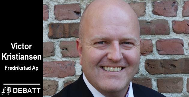 Victor Kristiansen, Ap, leder oppvekstutvalget i Fredrikstad kommune: – Det er trist, leit og vondt at barn ikke har det godt på skolen.