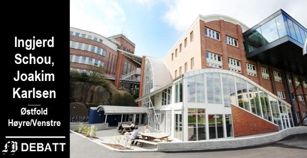 Høgskolen i Østfold (her fra avdelingen i Fredrikstad) får nye studieplasser innen helse- og sosialfag, lærerutdanningene og for matematikk, naturvitenskap og teknologi.