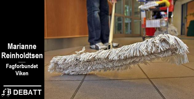 Blant en rekke yrkesgrupper er det renholderne som nevnes først i takken for å ha taklet koronaen.