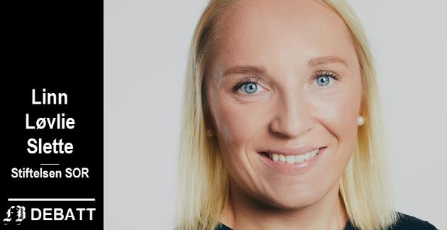 Linn Løvlie Slette er vernepleier og rådgiver i Stiftelsen SOR som arbeider for å fremme utviklingshemmedes rettigheter.