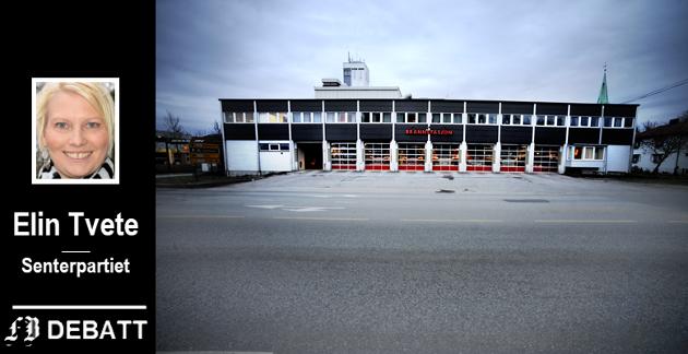 LANDEMERKE PÅ FLYTTEFOT?: – Det er imponerende at det på slutten av 50-tallet ble planlagt og bygget en brannstasjon som har fungert og ivaretatt behovene til Brann og redning i hele 60 år, skriver Tvete.  Nå mener hun altså at den er moden for utskifting.