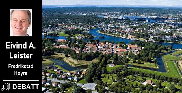 – Høyre ser selvsagt verdien i å utvikle sentrum, som for øvrig ikke er spesielt stort, når man betrakter den lille verdensbyen fra oven.