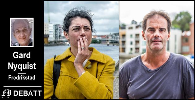 Racha Maktabi og Morgan Andersen er de to det  særlig har vært fokusert på i mange av rettssakene som gjelder eiendommen på Dampskipsbrygga.