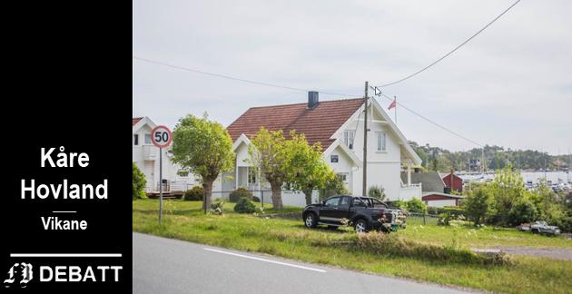 Spørsmål om hvorfor boplikten ikke gjelder denne eiendommen i Vikane kom opp da den ble lagt ut for salg tidligere i vår.