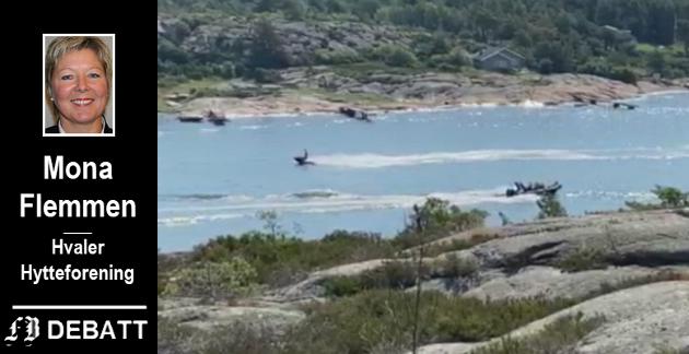 Stor fart og klage fra naboer i Asmaløysundet siste helg. Se video nede i saken.