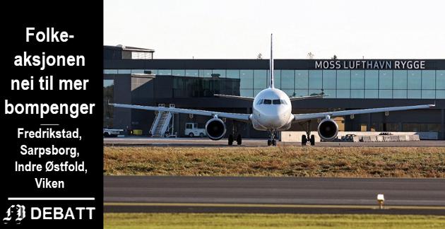 Med Avinor som samarbeidspartner ser Folkeaksjonen for seg et trekantsamarbeid mellom Rygge og de to flyplassene som er i drift på Østlandet.