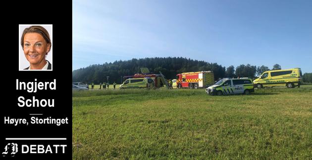 En 59 år gammel motorsyklist fra Fredrikstad mistet livet i et sammenstøt i krysset Oldtidsveien/Ullerøyveien den 23. juni. – Det er en av flere ulykker med tragisk utfall, fastslår Schou.