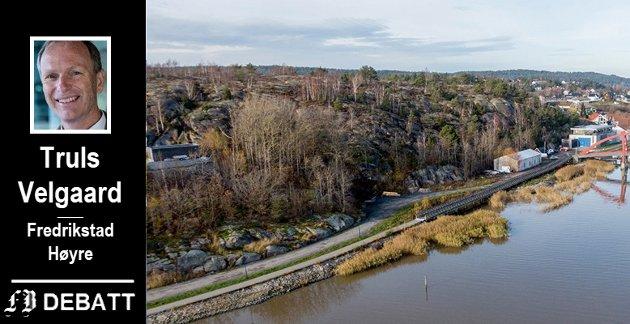 BEVARE: - Høyre ønsker å bevare eksisterende parker, og også bygge ut nye, skriver Truls Velgaard.