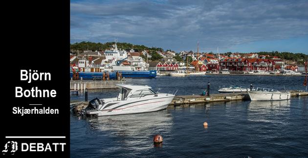 Björn Bothne mener tiden er inne for å se de store linjer og stå imot et økt trykk for å bygge  ut turistanlegg på Hvaler.