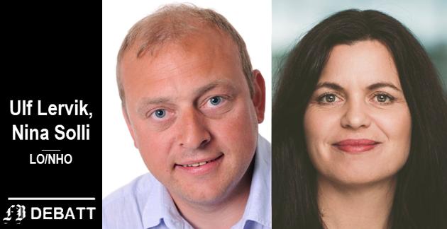– Reiselivsnæringen er et opplagt eksempel på bedrifter som har behov for utvidelse av permitteringsperioden, mener Ulf Lervik, LO og  Nina Solli, NHO.
