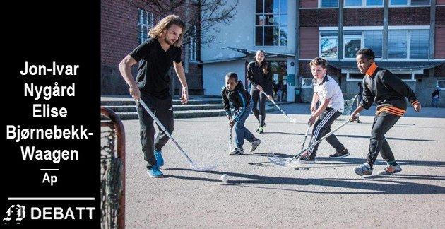 Fredrikstad-idretten har flere tiltak som fremmer inkludering av innvandrerbarn. Bilde fra Trosvik skole.