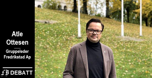 – Jeg håper vi for framtiden slipper slike uverdige angrep fra Høyre sin side, skriver Ottesen.
