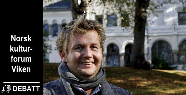 Ole-Henrik Holøs-Pettersen, kultursjef i Fredrikstad kommune, er varamedlem og lokalt ansikt i styret for Norsk Kulturforum Viken.