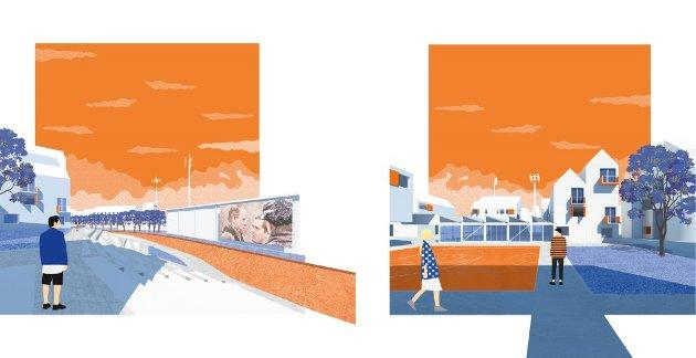 Illustrasjon fra vinnerforslaget.