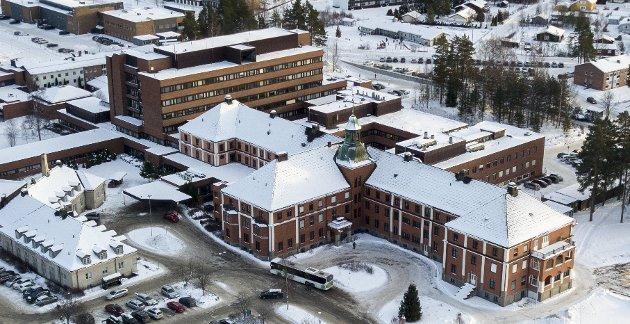 Sykehuset i Elverum.