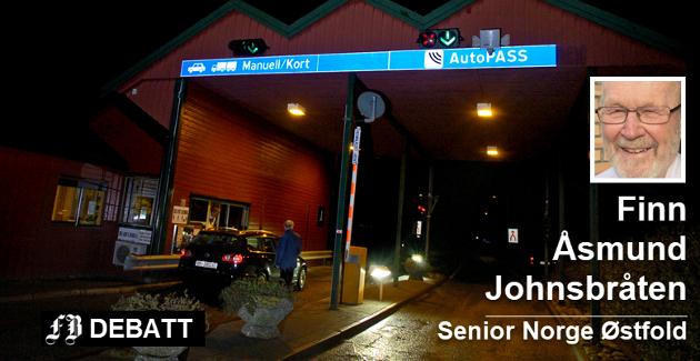 Hvalerbommen på Stokken er et kapittel i en land historie om bomstasjoner i Norge. – Og slik vil det fortsette hvis ikke noen har andre gode måter å skaffe penger på, mener Johnsbråten.