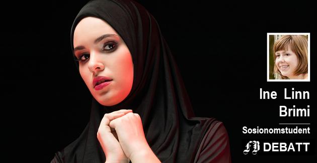 – Du skal helst blande deg med majoriteten. Bruker du hijab eller niqab, så vil du av enkelte bli sett på som et annerledes vesen. Ikke som menneske, men noe som man ikke forstår.
