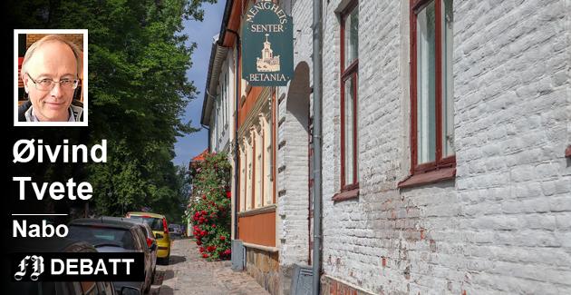 Øivind Tvete mener på vegne av naboer at saken om støyklager mot Betania handler om å sette klagende naboer i et dårlig lys. Foto: Harry Johansson
