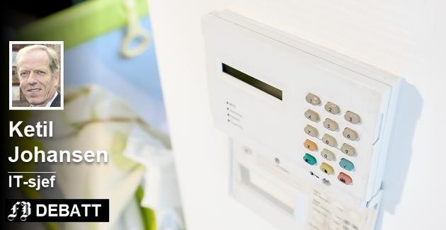 Det finnes tre eller fire firmaer som leverer velferdsteknologi til Fredrikstad kommune etter inngåtte rammeavtaler, avtaler eller kontrakter, opplyser  IT-sjef Ketil Johansen i dette innlegget.  Illustrasjonsfoto: Colourbox