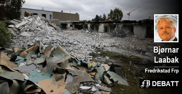 68 sykehjemsplasser ble borte da Onsøyheimen ble revet høsten 2017.  I Laabaks regnestykke vil også Torsnes og Emil Mørchs Minne bli nedlagt.