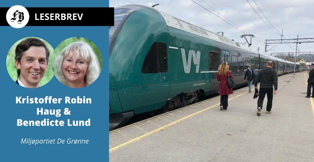 – Togsatsing er spesielt viktig i Østfold som Norges inngangsport til resten av Europa. Tusenvis av folk og tonnevis med gods krysser grensen daglig, skriver MDG-politikerne.