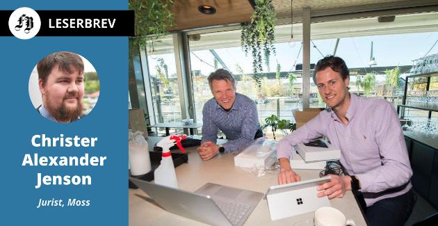 Daglig leder ved Delicatessen, Erik Tronbøl, og Edwind Fjeldtvedt i selskapet Ordr som har utviklet bestillings- og betalingssystemet som Finn Åsmund Johnsbråten mener er ulovlig. Se lenke nede i innlegget til FB-sak med omtale av systemet.