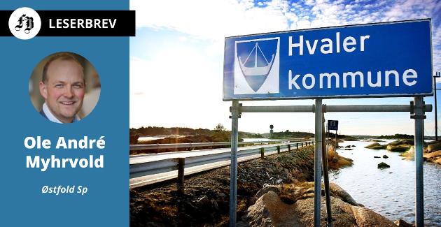 – Får regjeringen det som den vil, deles norske kommuner i A- og B-lag, mener Myhrvold.