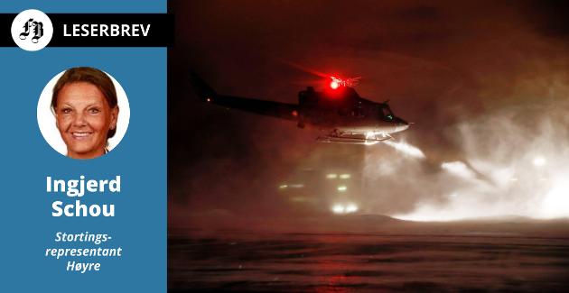 Nattflyging mot Rygge med et Bell-helikopter. – Fra 2024 vil regjeringenanskaffe nyeog bedrehelikoptre til spesialstyrkene. Ogsåde nyehelikoptrenefårRyggeflystasjon som hjemmebase, skriver Schou.