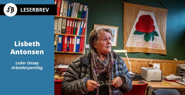 – Det er voldsomt belastende å grue seg til å gå på politiske møter. Det gjør vondt, skriver Lisbeth Antonsen, om feiden med Ap-toppene i Fredrikstad.