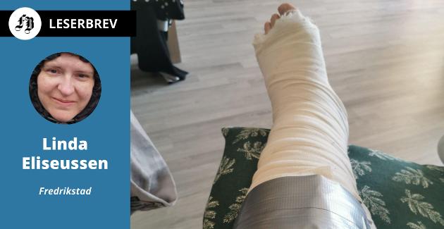 – Helsepersonell som har sett røntgenbilder i etterkant har sagt at det er noe av det beste arbeidet de har sett noen gang utført av en ortopedisk kirurg, skriver Linda Eliseussen.