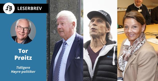 Veteraner som ønsker ny periode på Stortinget: Carl I. Hagen, Jan Bøhler og Ingjerd Schou.