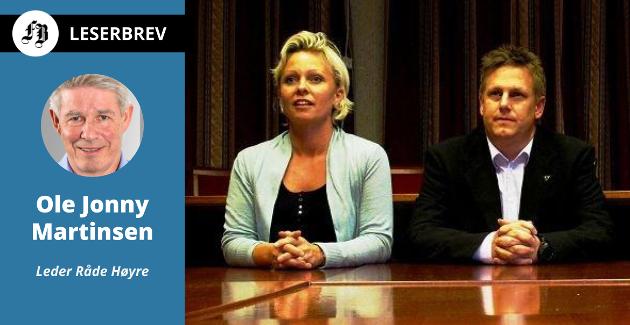 Lederen av Råde Høyre er sikkert på at Høyre vil få best prosentvis oppslutning i Råde under stortingsvalget neste høst. Han vil ha Frederikke Stensrød og René Rafshol høyt opp stortingslisten.