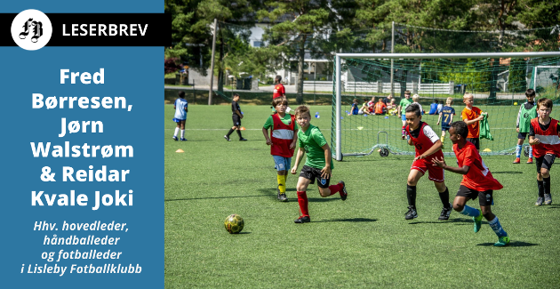 Unger på Lislebys fotballskole i juni i år. Neste steg er en plass blant klubbens over 500 aktive medlemmer?