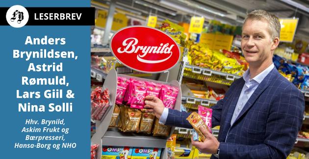 – Godteri og brus blir ikke sunnere av at folk kjøper dem på svensk side av grensen, heter det i innlegget Anders Brynildsen i Brynild er medforfatter av.