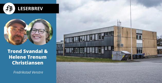 På venteliste for rehabilitering, Kråkerøy ungdomsskole.