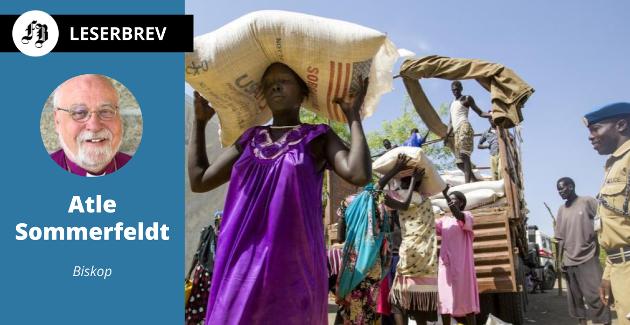 – FNs matvareprogram  gir mennesker i stor nød håp for dagen og fremtiden, skriver biskop Sommerfeldt.