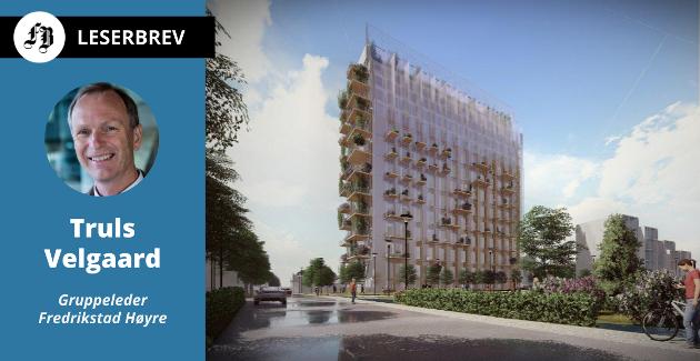 – Det mest dramatiske i denne saken er det lys som nå kastes over byggesaksbehandlingen i Fredrikstad kommune, skriver Velgaard om at det nå ser ut til at Cicignon Park med sin grønne profil ikke blir realisert.