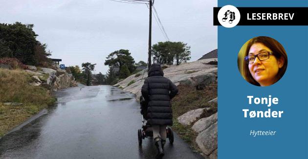 Fastboende og hytteeiere i området frykter for utslaget av økt trafikk på den smale veien mellom Øyenkilen og Fjellskilen der det omsøkte hytteprosjektet vil ligge.