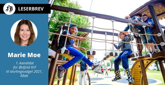 KrF ønsker at alle barn skal ha mulighet til å delta i fritidsaktiviteter.