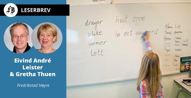 Skole er ett av to områder Høyre-representantene vil satse på for å få bedre levekår i de utsatte områdene.